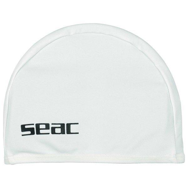 Плувна шапка ликра, бяла