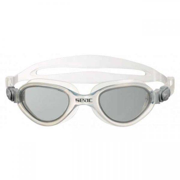 Очила за плуване FIT, бели