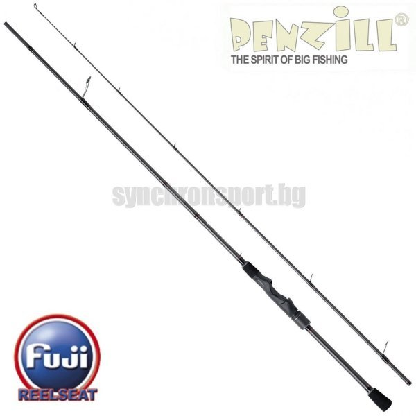 Penzill Shades Light Spin, 6-17 г, 2,10 м