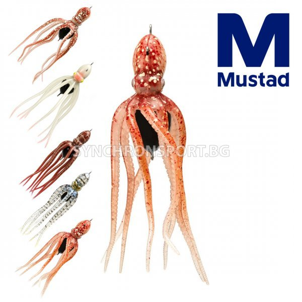Октопод Mustad InkVader Jig 230 г