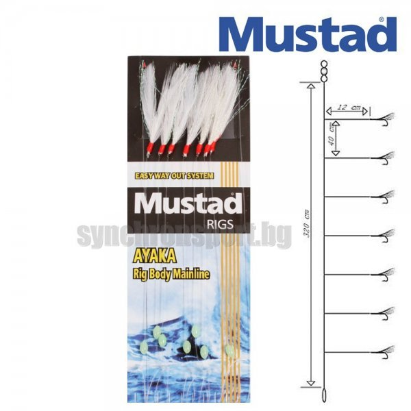 Чепаре Mustad Feather Rig T82