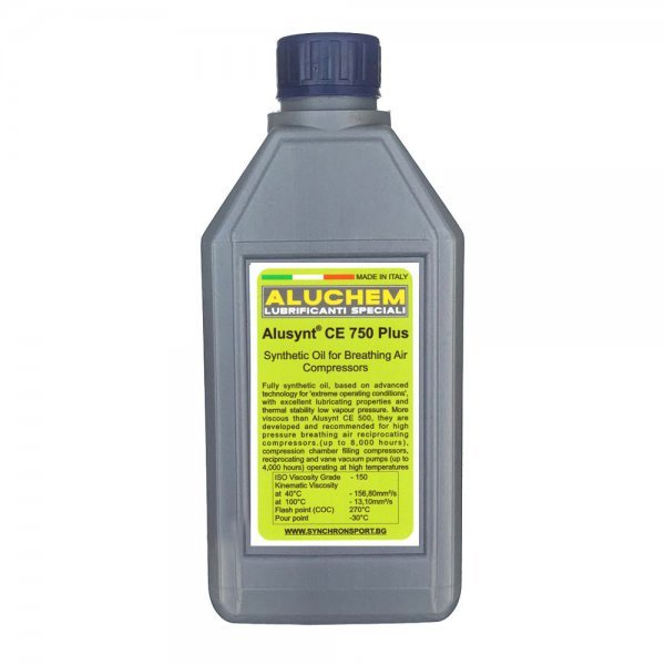 Масло Aluchem Аlusynt 750 Plus 1л - за компресор