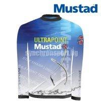 Фланелка Mustad MCTS03-BU, синя с дълъг ръкав