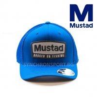 Шапка Mustad MCAP08-BU-LXL-1 синя