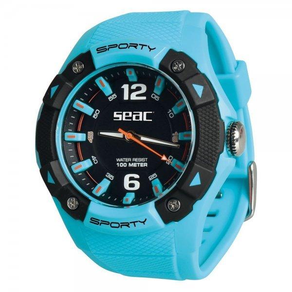 Спортен водоустойчив часовник SPORTY, светло син