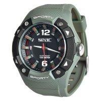 Спортен водоустойчив часовник SPORTY, зелен