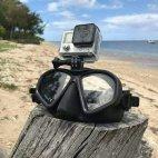 Маска GP1 с държач за камера GoPro