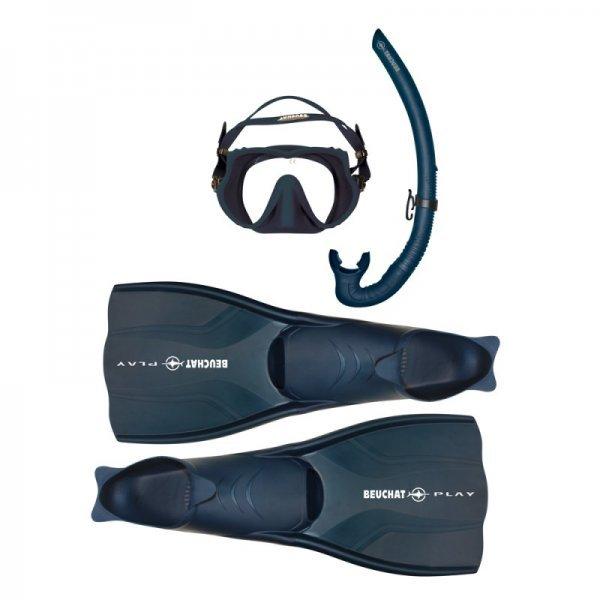 Комплект ATOL: маска, плавници и шнорхел