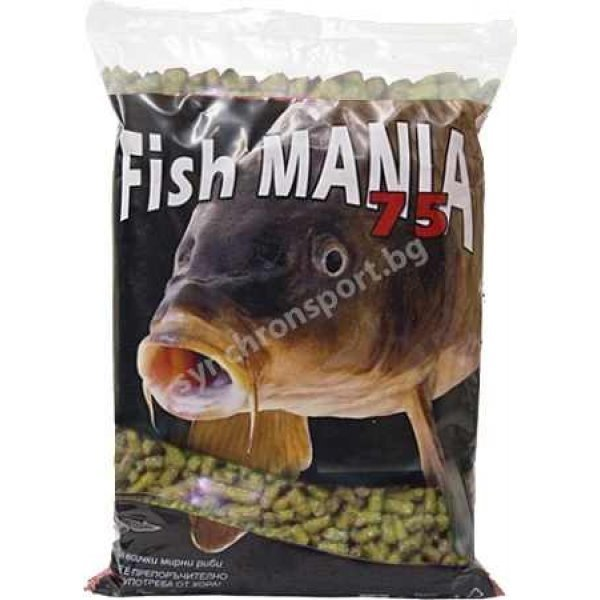 Гранули Fishmania 75 - банан (800 г)