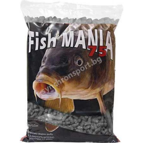 Гранули Fishmania 75 - кюспе (800 г)