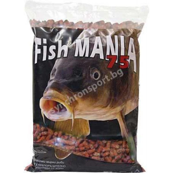 Гранули Fishmania 75 - мед (800 г)