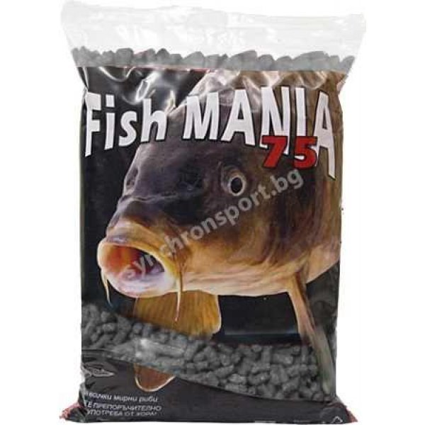 Гранули Fishmania 75 - риба (800 г)