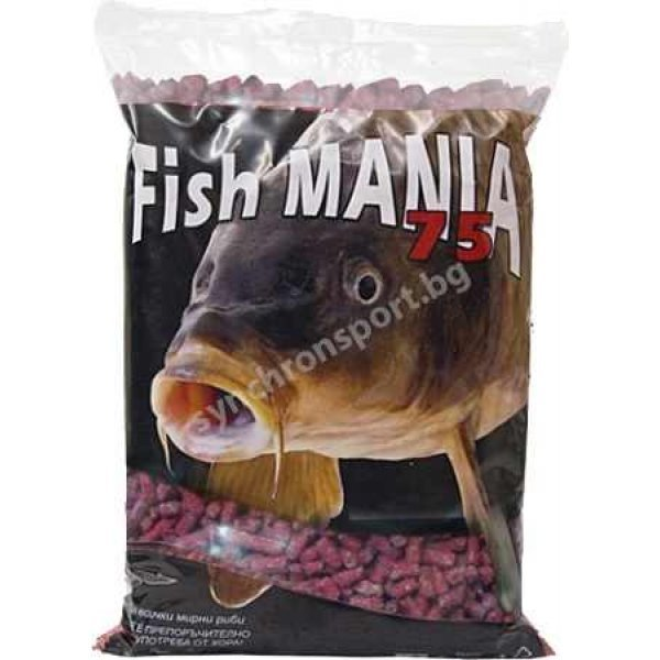 Гранули Fishmania 75 - ягода (800 г)