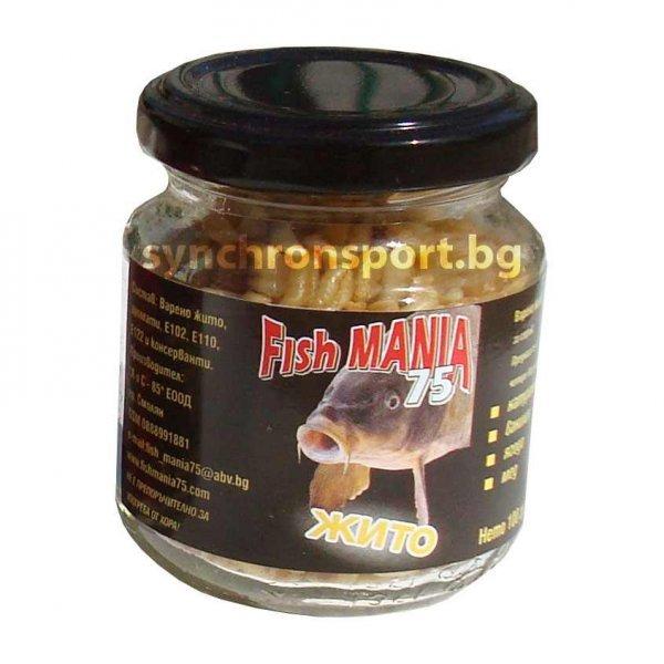 Жито Fishmania 75 - Ванилия (100 г)